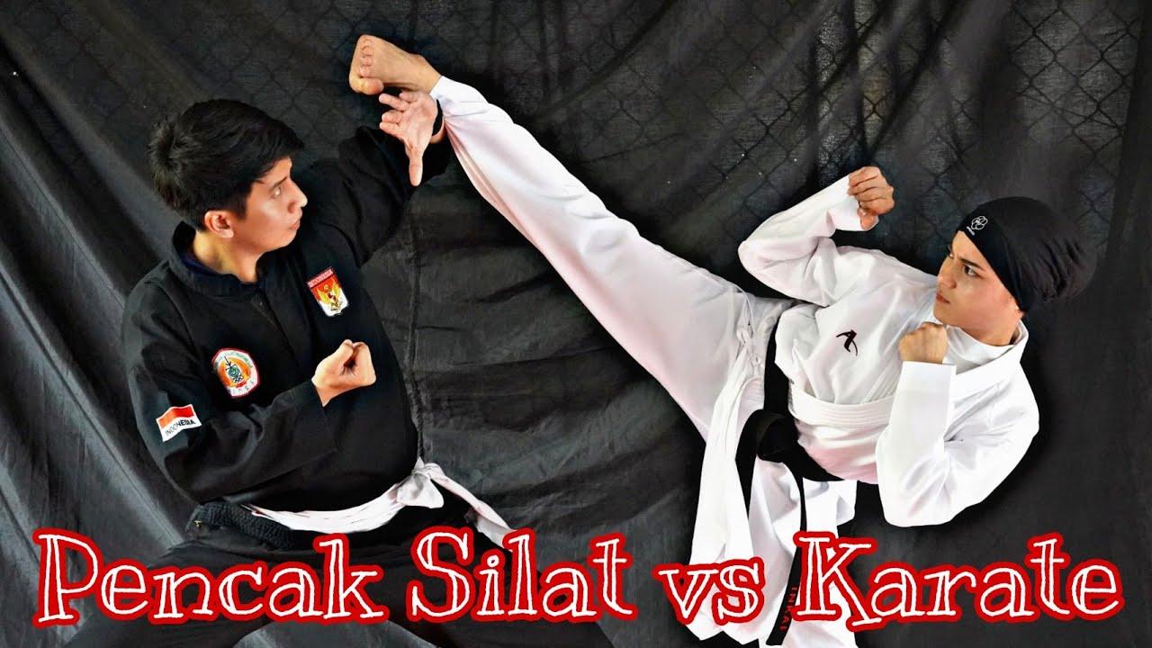 Pencak Silat VS Karate Perbedaan Peraturan Pertandingan