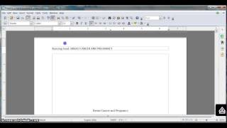 Gambar cover Formatting an APA research paper in OpenOffice