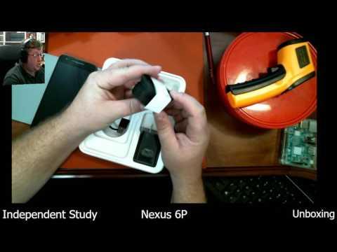 Independent Study: Nexus 6P Unboxing