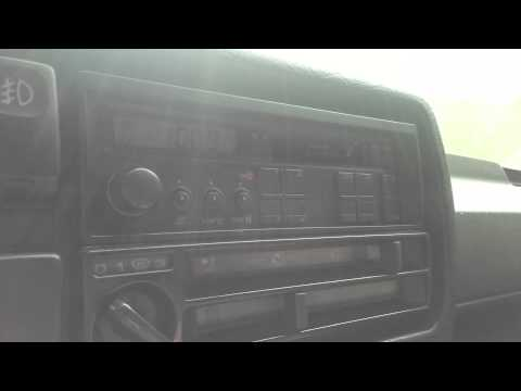 VW gamma 2 frame and mp3 cassette player