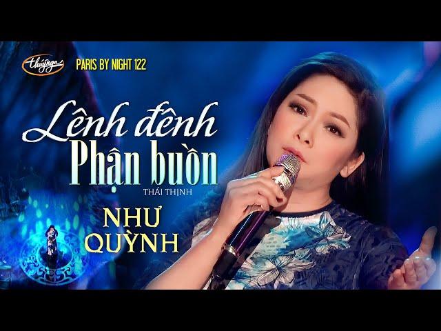 Như Quỳnh - Lênh Đênh Phận Buồn (Thái Thịnh) PBN 122