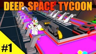 LE PLUS GRAND MAGNAT DE ROBLOX! - Deep Space Tycoon Ep 1 - MON JEU OWN!