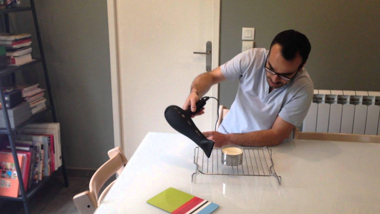 d moulage bavarois au s che cheveux youtube. Black Bedroom Furniture Sets. Home Design Ideas