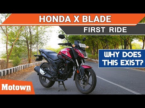Honda X Blade | First Ride Review