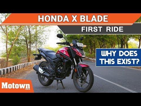 Honda X Blade | First Ride Review