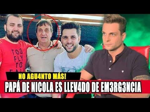 PAPÁ DE NICOLA PORCELLA ES LLEVADO AL H0SPIT4L TRAS LA PRESENTACIÓN DE SU HIJO EN TELEVISIÓN