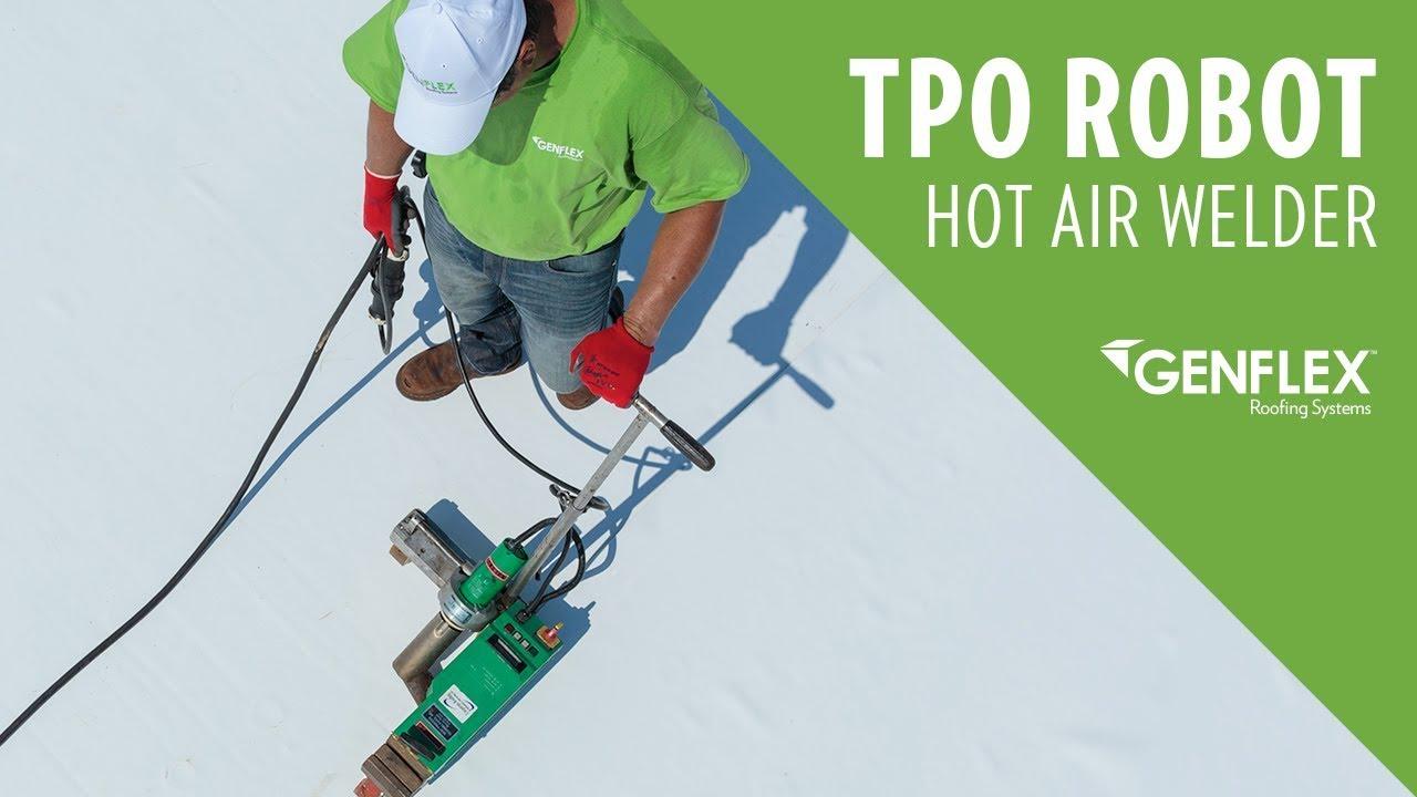 Tpo Robot Hot Air Welder Youtube