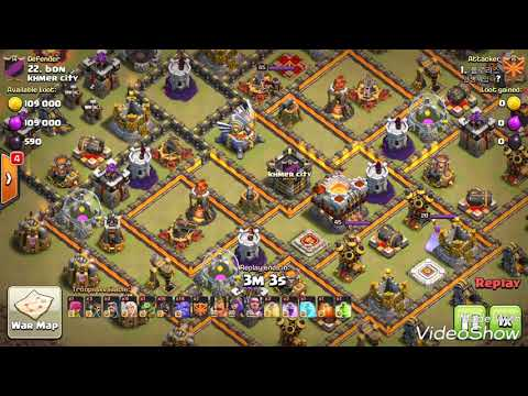 War Watch and Learn Dragon Healer Attack⚡ Hoggy Bowler Skill insane Style destroy War base