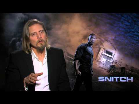 Barry Pepper Interview - Snitch