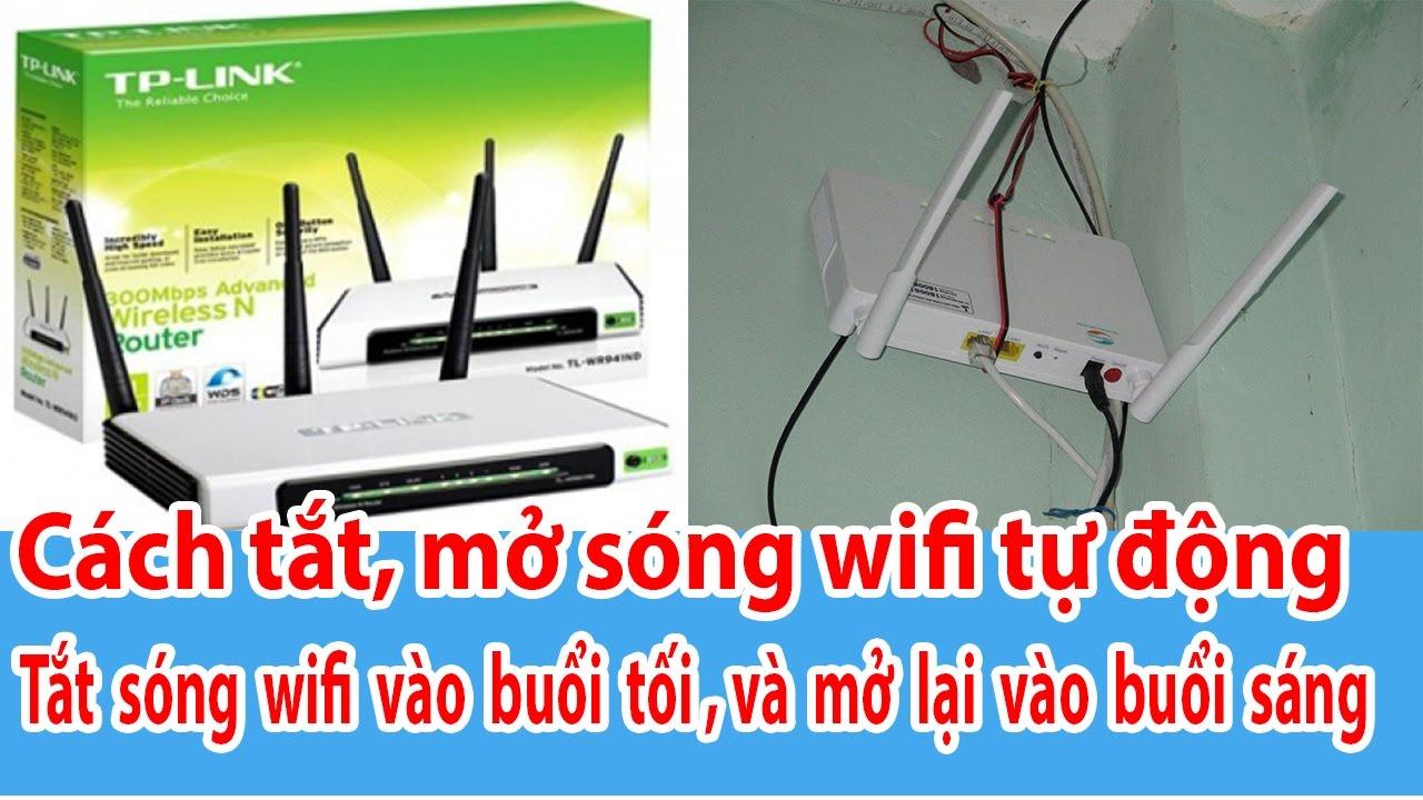 Cách tắt sóng wifi – tắt hoặc mở phát sóng wifi tự động