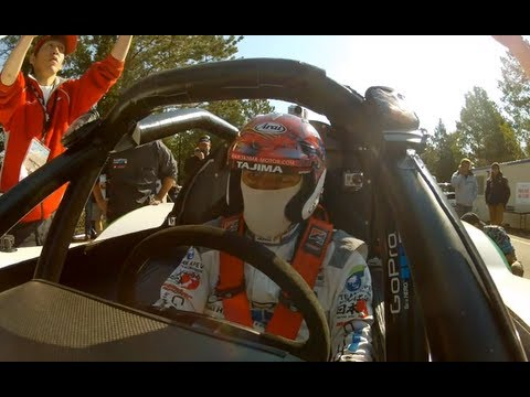 "GoPro:  ""Monster"" Tajima - Pikes Peak International Hill Climb - Day 1 Qualifying Run 2012"