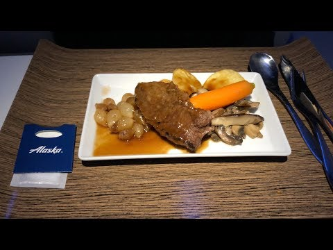 Alaska Airlines 737-900 First Class Philadelphia to Seattle