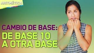 Cambio de base: De base 10 a otra base - 9