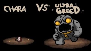 The Modding of Isaac Showcase: Undertale Chara Greed Mode