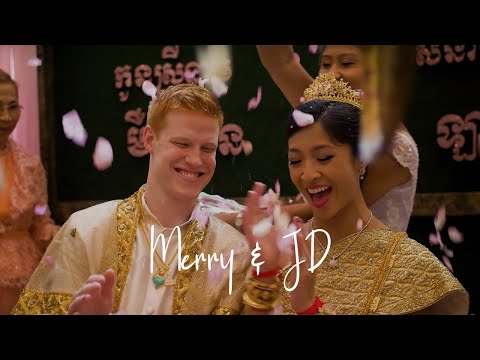 Merry & JD: The Royal Family | Laughter-Filled American-Cambodian Wedding Film