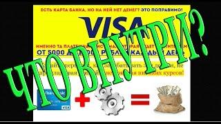 Visa, или 5 000   10 000 рублей в день на автомате. Что внутри?(Обзор курса по заработку в интернете