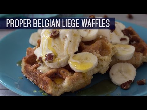 The Recipe Show by Rattan Direct- Proper Belgian Liege Waffles