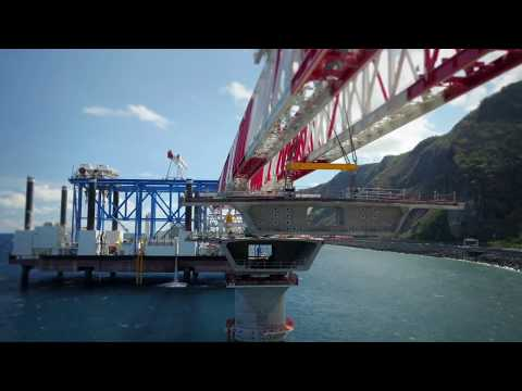 Zourite - Heavy Lift Jack Up Barge for offshore viaduct installation