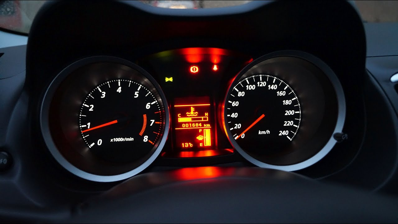 Mitsubishi Lancer Dashboard Light Adjustment Youtube
