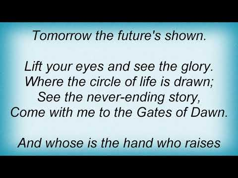 Secret Garden - Gates Of Dawn Lyrics