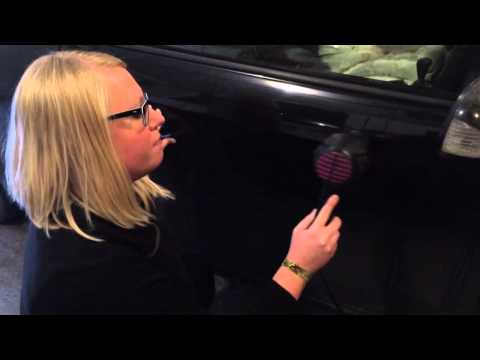 How To Remove Small Dents And Dings From Car Using A Hair Dryer And Canned Air