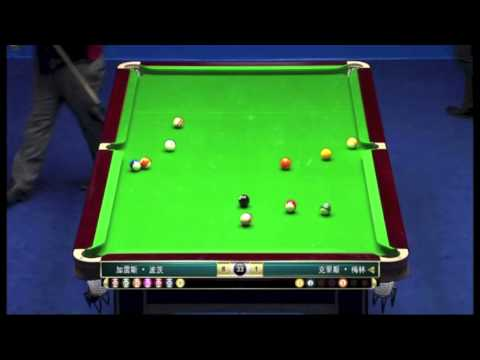 Chinese 8 Ball Masters 2013 - Final (Potts vs Melling): Part 4