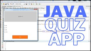 Java Project Tutorial -  How To Create a Quiz Program In Java NetBeans