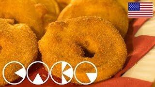Golden Apple Rings - 12 Days Of Christmas (day 5)