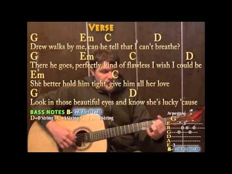 Tear drops on my guitar lyrics and chords