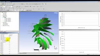 Видеоурок CADFEM VL1319 - Расчёт центробежного компрессора в приложениях ANSYS Turbo