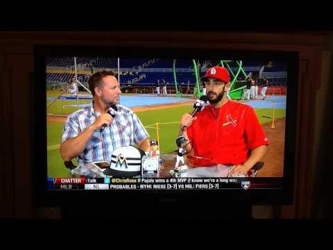 Matt Carpenter STL Cardinals on MLB Network Intentional Talk Jun 15