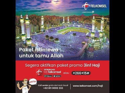 Paket Haji Telkomsel 2018.