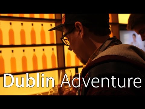 Irish Whiskey Museum - Dublin Vlog 3