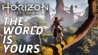 Touring The Beautiful Open World - Horizon Zero Dawn Gameplay