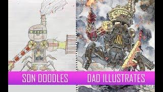 STEAMPUNK WAR MACHINE [FULL VERSION] Father & Sons' Design Workshop No.19