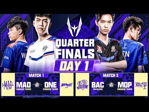 AWC 2021 | Quarter Finals | Day 1