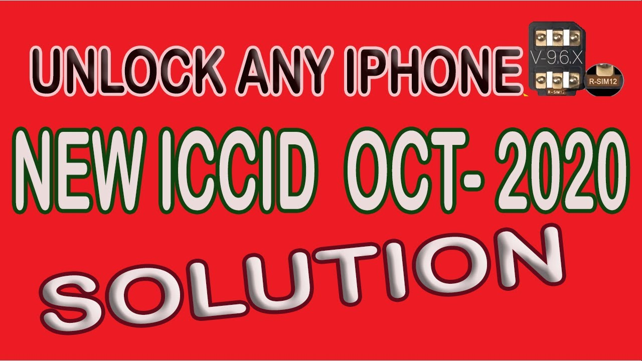 Rsim12 New ICCID WORKING On iOS 12 4 Activation Error (SOLVED) 8/23/2019