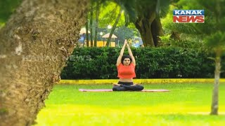 Video Yoga: Parvatasana- The Mountain Pose download MP3, 3GP, MP4, WEBM, AVI, FLV Juni 2018