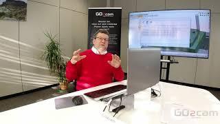 GO2cam Bohren Teil 03 - Automatisierte Bohroption mit Standardbohrungen ohne HMF