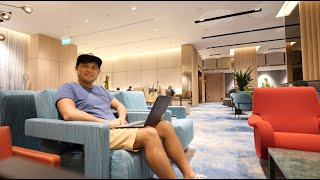 World's Best Airport's Lounge Review | Changi Lounge at Jewel💎