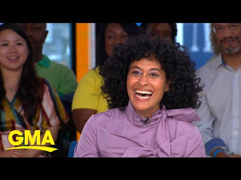 Mixing it up with Tracee Ellis Ross live on 'GMA' l GMA