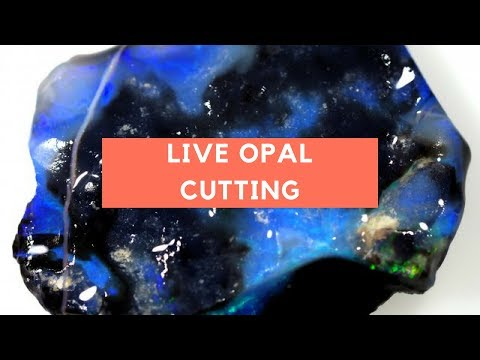 *Live Cutting* Watch as one of our cutters turns a Rough Opal into a beautiful finished stone.