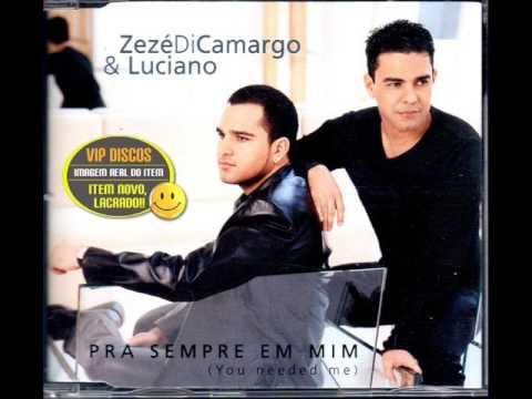 Zezé Di Camargo e Luciano - O Amor Deixou A Gente (2001)