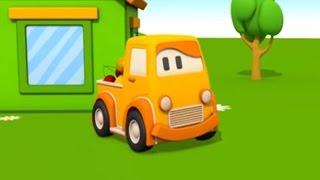 Schlaue Autos! -Episode 3- Wir entdecken buntes Obst! - 3D Animation für Kinder