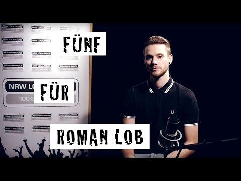 Fünf für Roman Lob - das Interview ohne Fragen