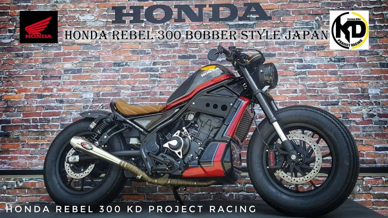 Honda Rebel300 Motorbike Idea Challenge - KD Project Racing - YouTube