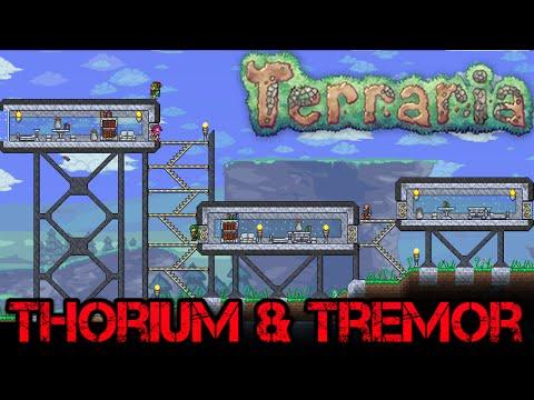 [20] Terraria : Thorium & Tremor   Expanding The Base (Speed Build)