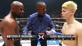 Floyd Mayweather (USA) DESTROYS Tenshin Nasukawa (Japan), FULL FIGHT HD