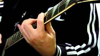 プリプリのゲット・クレイジーをギターコピーしました。