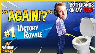 TFUE WINS WHILE TAKING A PEE **AGAIN**! - Fortnite Moments #154